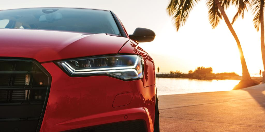 The Florida Keys are hot. Misano Red hot. #AudiS6