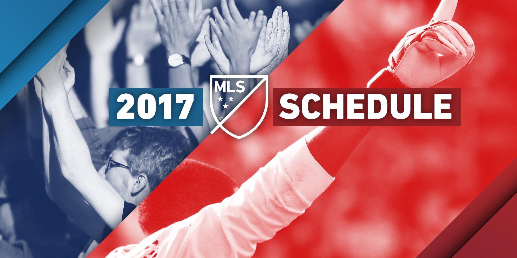 Mark your calendars.   📅 2017 MLS Schedule 📅: https://t.co/JbKjSijWhZ https://t.co/2VAvtpYuoM