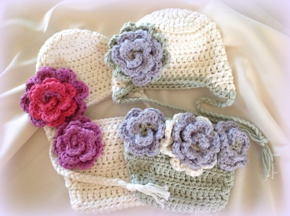 #Crochet Diaper Cover Pattern, Crochet #Baby Hat Pattern, Photo Prop - PDF Pattern - Sweet Flower - Crochet... #knit  http:// jto.li/UTLPn  &nbsp;  <br>http://pic.twitter.com/P361SKvqfB