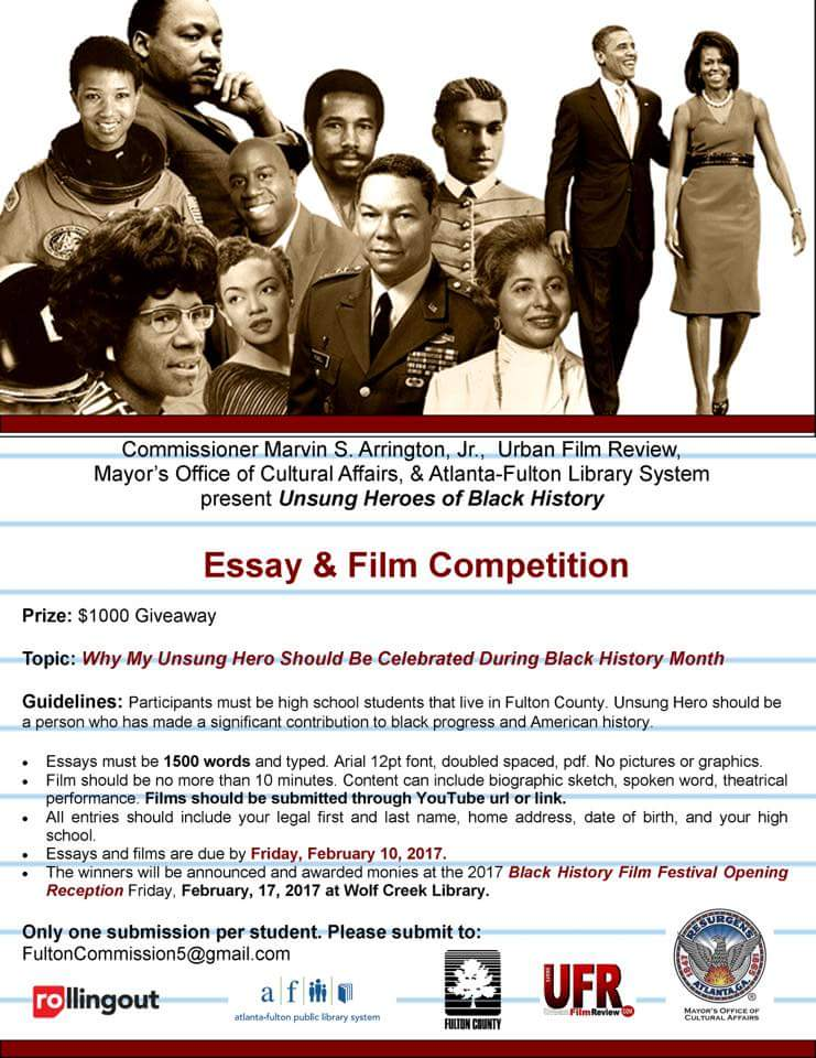 Marvin Arrington Jr On Twitter Mhjhsjaguars Mhjhsprincipal  Marvin Arrington Jr On Twitter Mhjhsjaguars Mhjhsprincipal  Lesliegrantboe  My Unsung Black History Hero Essay And Film  Competition For Apsupdate  Global Warming Essay Thesis also People Who Do Assignments For Money  Online Grant Writing Certification