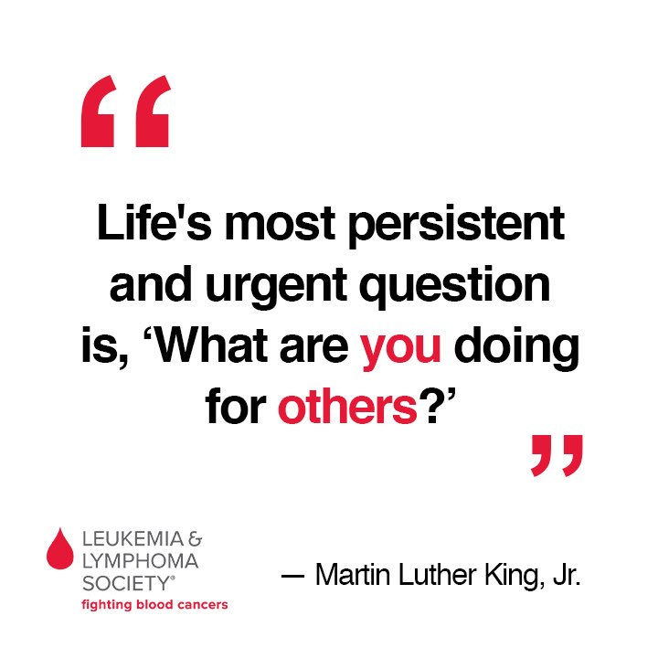 On a day that honors what #MLK stood for, he reminds us why we fight....