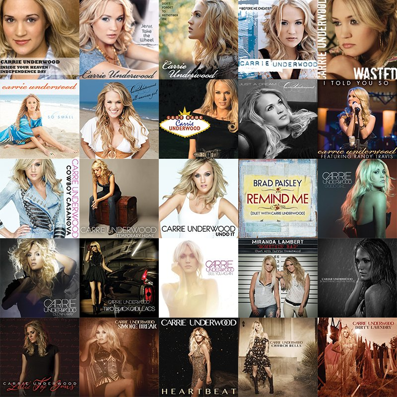 . @CarrieUnderwood scores her 25th #1 single with #DirtyLaundry Congratulations Carrie! Much love from Brazil
