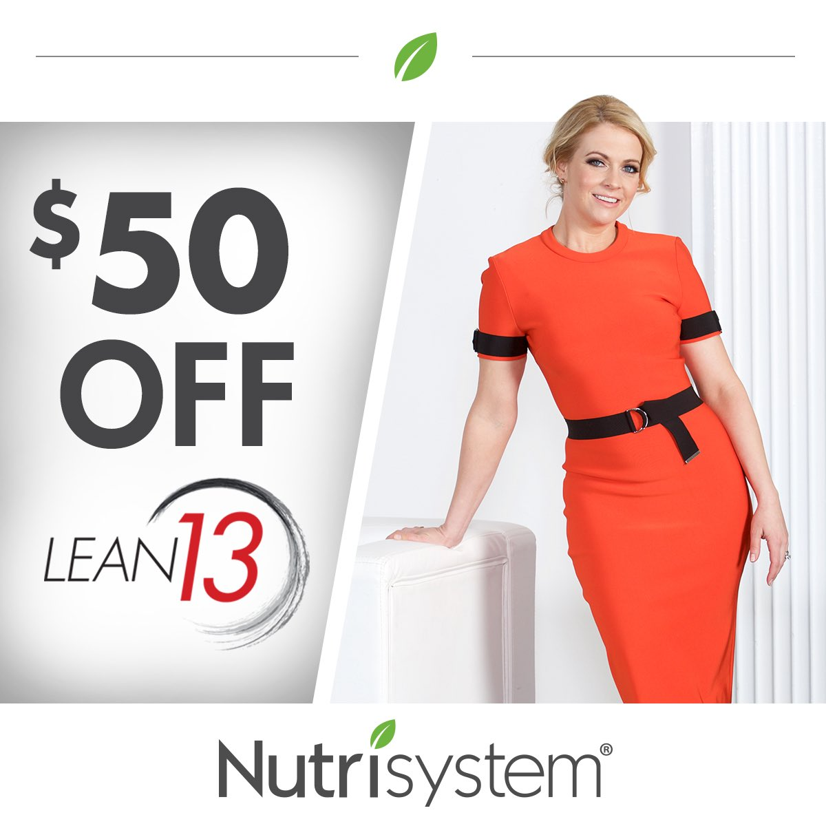 Be your best in 2017 with @Nutrisystem Lean13. From me to you – save $50 plus free shipping! https://t.co/zQtDqaC44m https://t.co/16yMpq6nDV