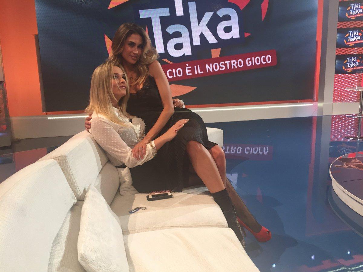 Questa sera su Italia 1: Melissa Satta riceve Ventura e Gullit a Tiki Taka