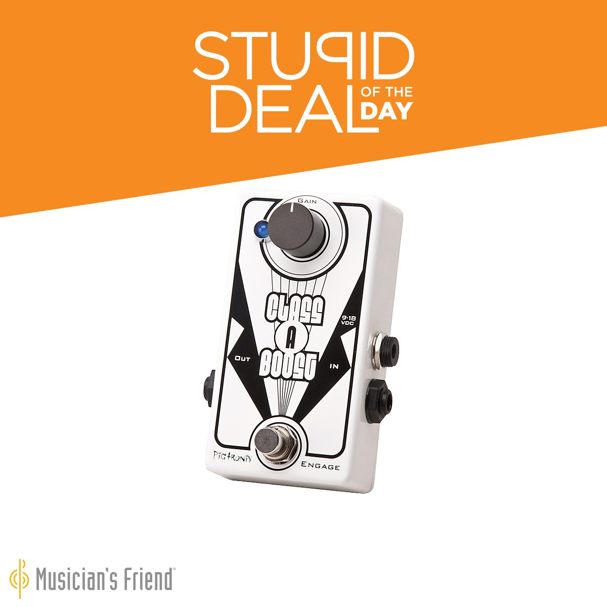 musician 39 s friend on twitter stupid deal of the day 1 16 17 pigtronix class a boost guitar. Black Bedroom Furniture Sets. Home Design Ideas