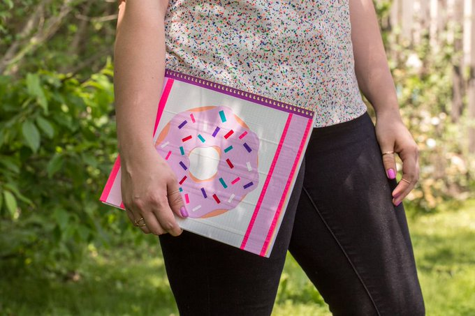 Duck Tape® Donut Notebook