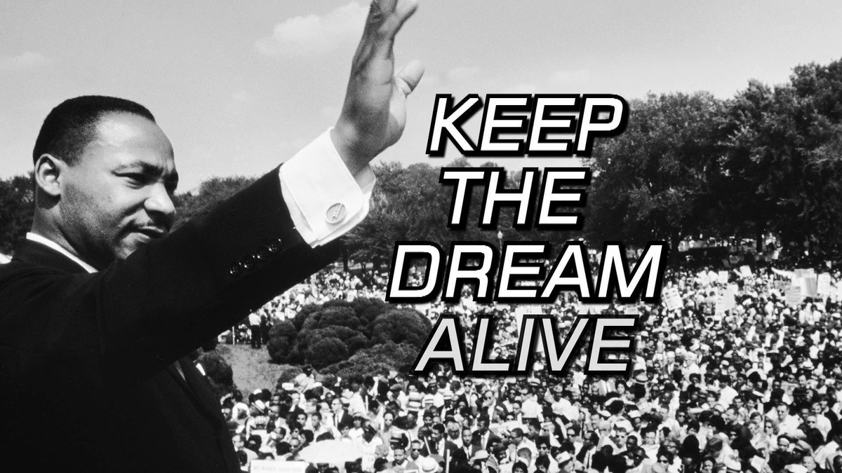On #MLK Day we encourage everyone, especially young people, to follow their dreams! https://t.co/6SyRQgfQPQ