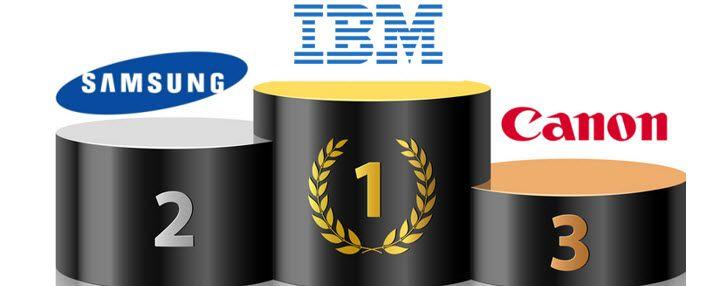 Brevets au US : #IBM en premier on le savait ! mais #Samsung le Coréen en deux, c&#39;est impressionnant! @ASoumagne   http:// buff.ly/2jgS2C1  &nbsp;  <br>http://pic.twitter.com/rtemKbOpEE