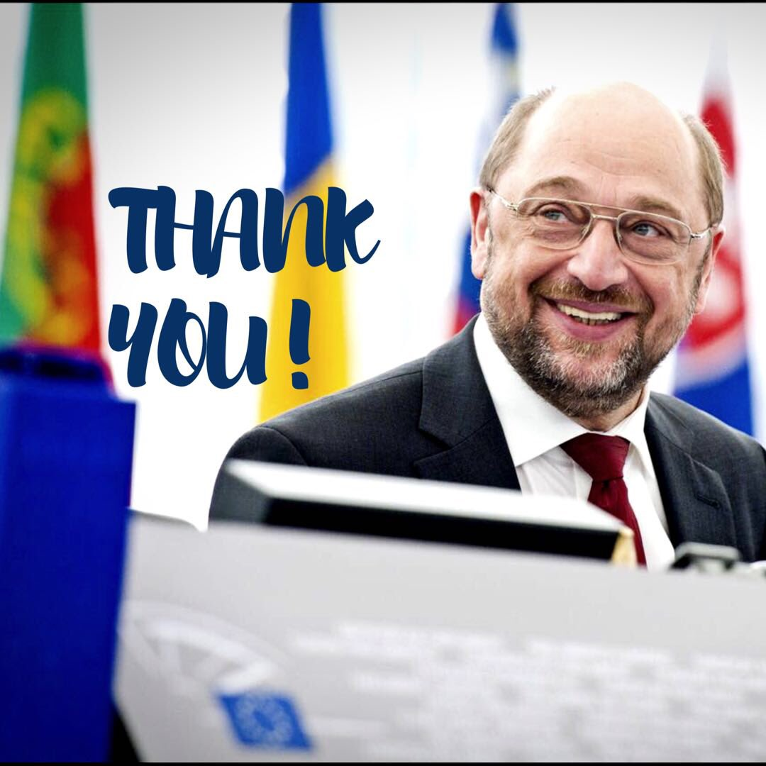 My mandate as @EP_President ends tomorrow but my committment to Europe & EU will be everlasting. Thanks for your support, ideas & engagement