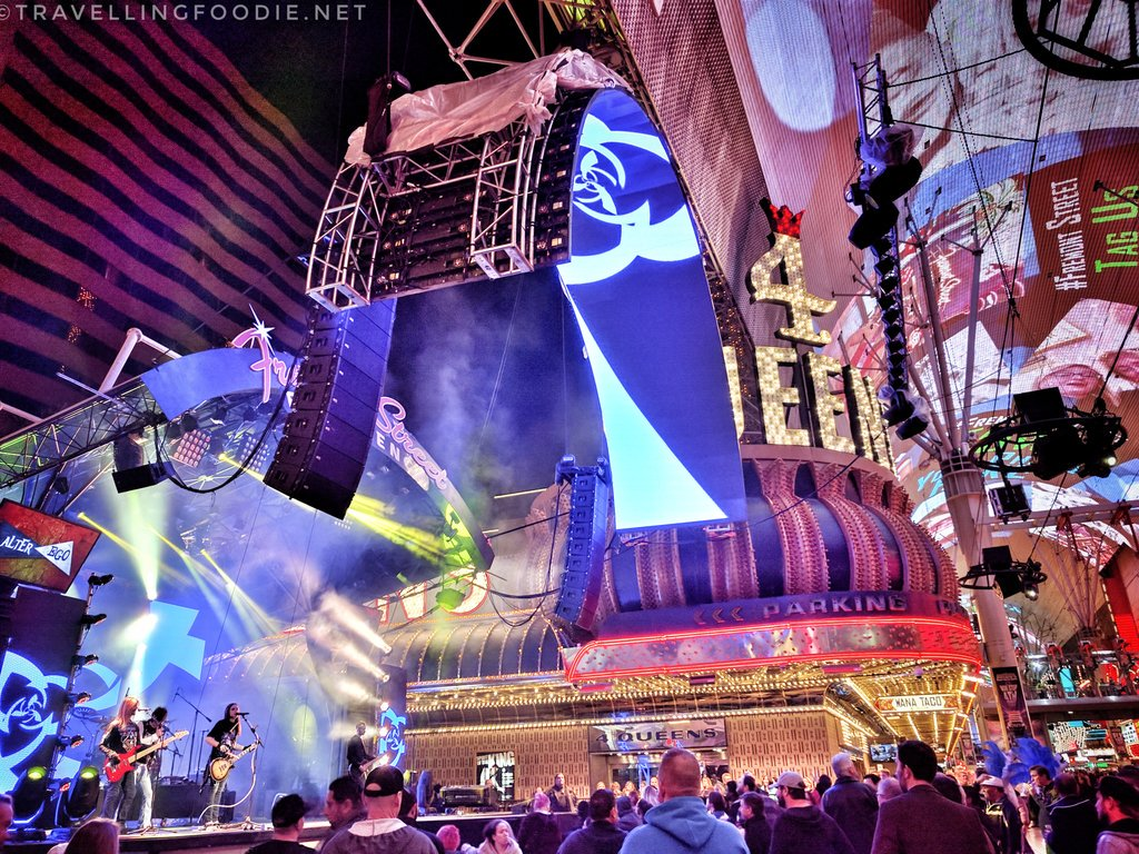 Fremont Street Experience in Downtown Las Vegas