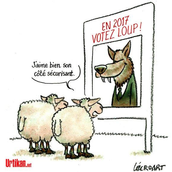 2017 : une année qui montre ses crocs… #DessinDuJour de Lécroart #Politique #Presidentielle2017 #vote #propagande  http://www. urtikan.net/dessin-du-jour /2017-une-annee-qui-montre-ses-crocs/ &nbsp; … <br>http://pic.twitter.com/bYY7oKtKiq