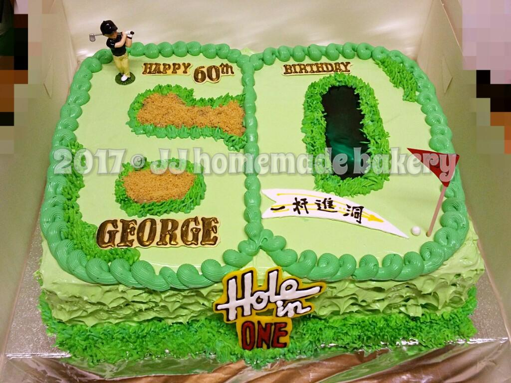 Golf Themed Birthday Cake Party Birthdaycake Jjhomemadebakerypictwitter MmWCbSXnu2