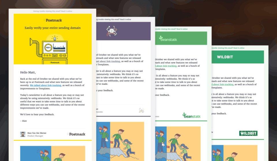 Postmark On Twitter Updating Newsletter Templates For Multiple - Multi page newsletter templates