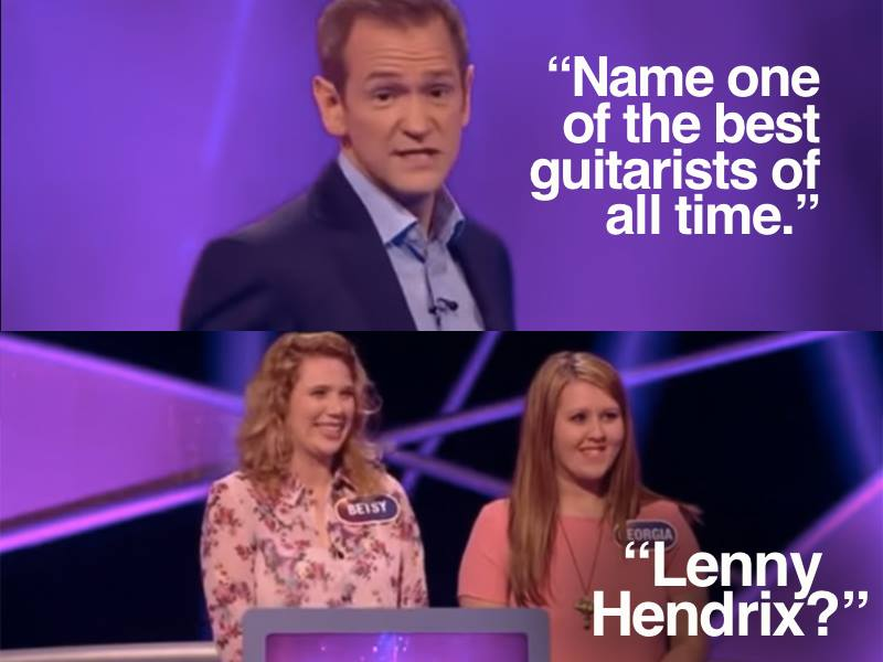 Check out #Pointless1000 soaring to the top of the trends. But never forget...