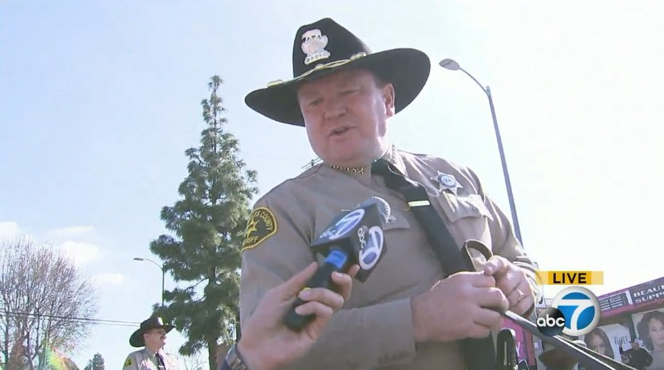 LIVE @LACoSheriff Jim McDonnell: Change is necessary but must be brought about peacefully