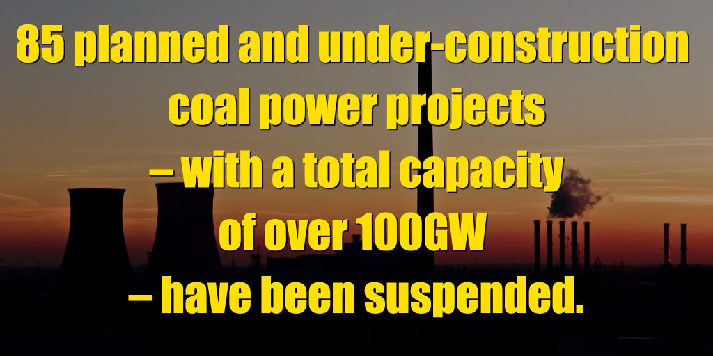 #China suspends 85 planned #coal power plants  http:// bit.ly/2itPR0L  &nbsp;   #divest<br>http://pic.twitter.com/WdhQMQMfb6