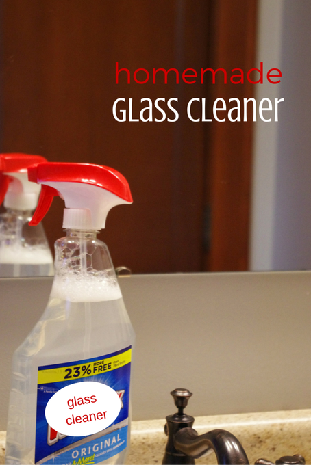 How to Make Glass Cleaner: Homemade Glass Cleaner