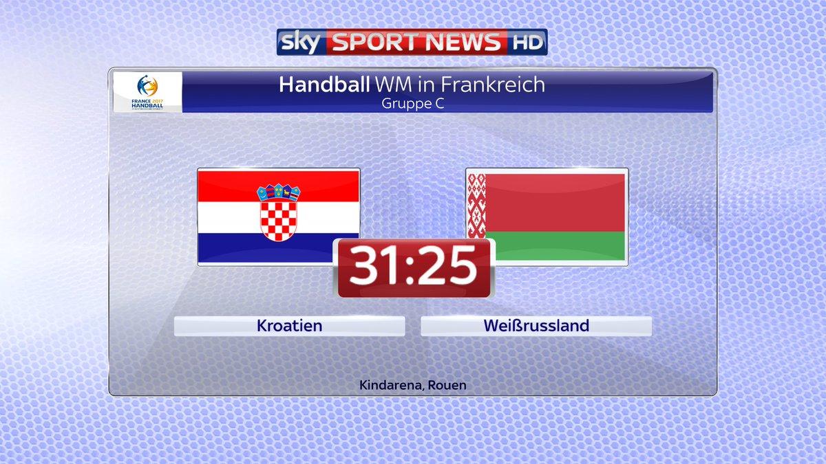 kroatien handball wm