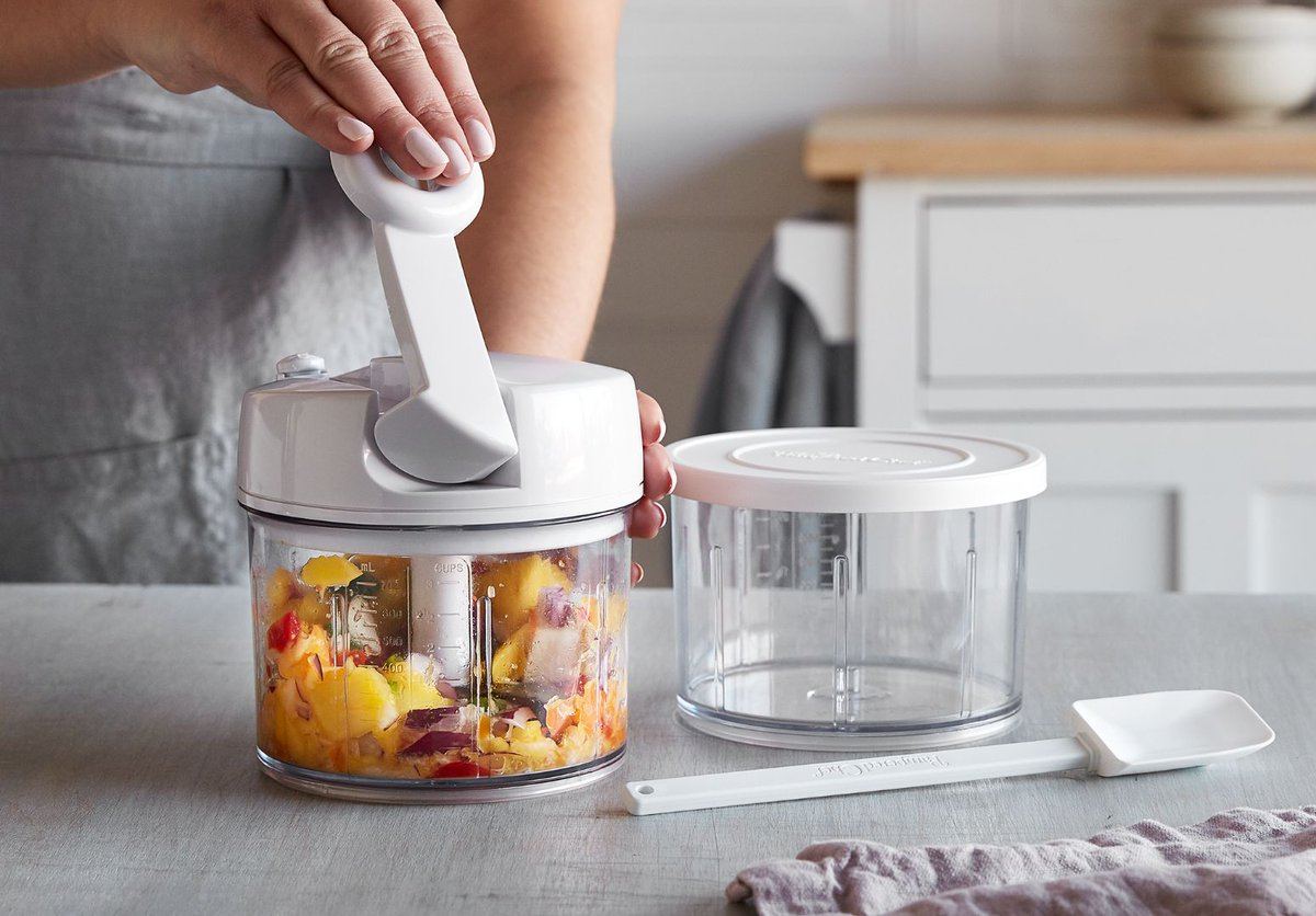Our MFP (Manual Food Processor) is a real MVP: https://t.co/s0t3YT9b5p...