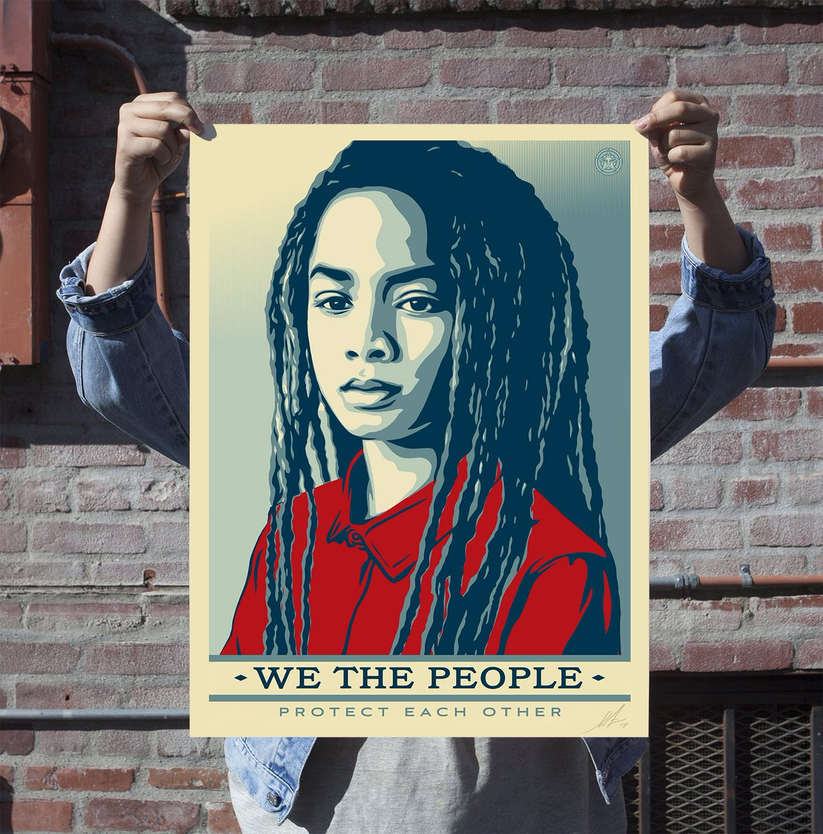 Tomorrow @ 10AM (PST), all 3 of my #WeThePeople 18 x 24&quot; prints will be available to purchase here:  http:// kck.st/2idgF0j  &nbsp;  . Don&#39;t miss it!<br>http://pic.twitter.com/OiFqmQBPot