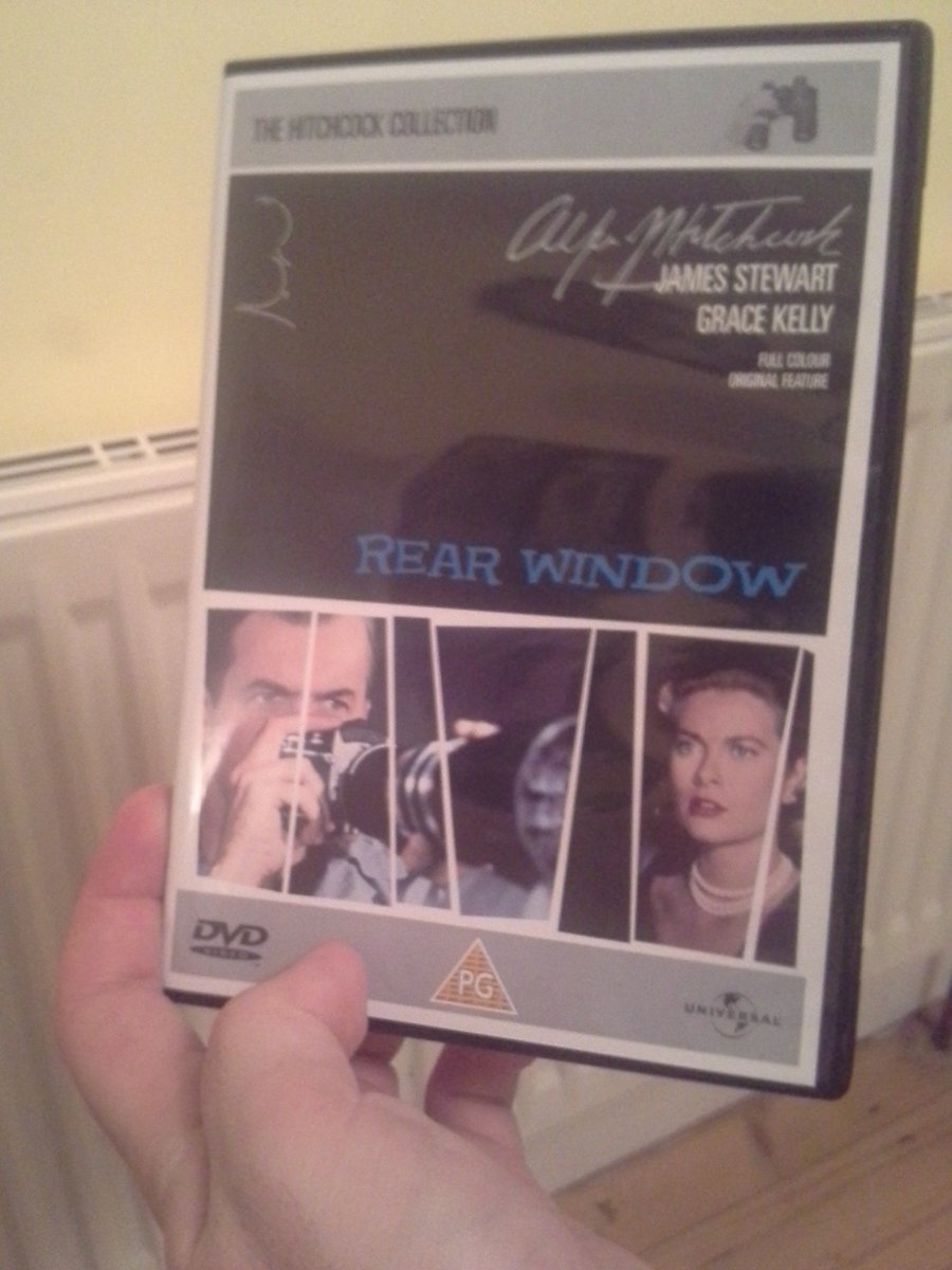 Looks like I\'m watching this classic #RearWindow #Hitchcock