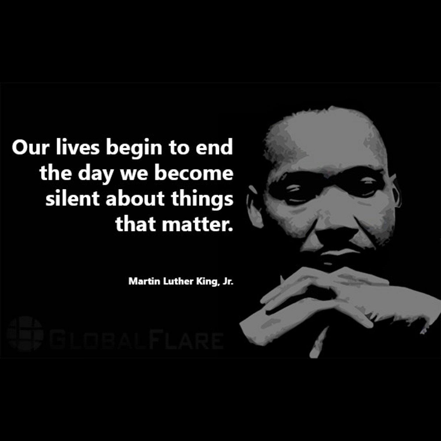 #MLKDAY  #MLK  #MLKday2017  #silence https://t.co/2AhV46E0aB
