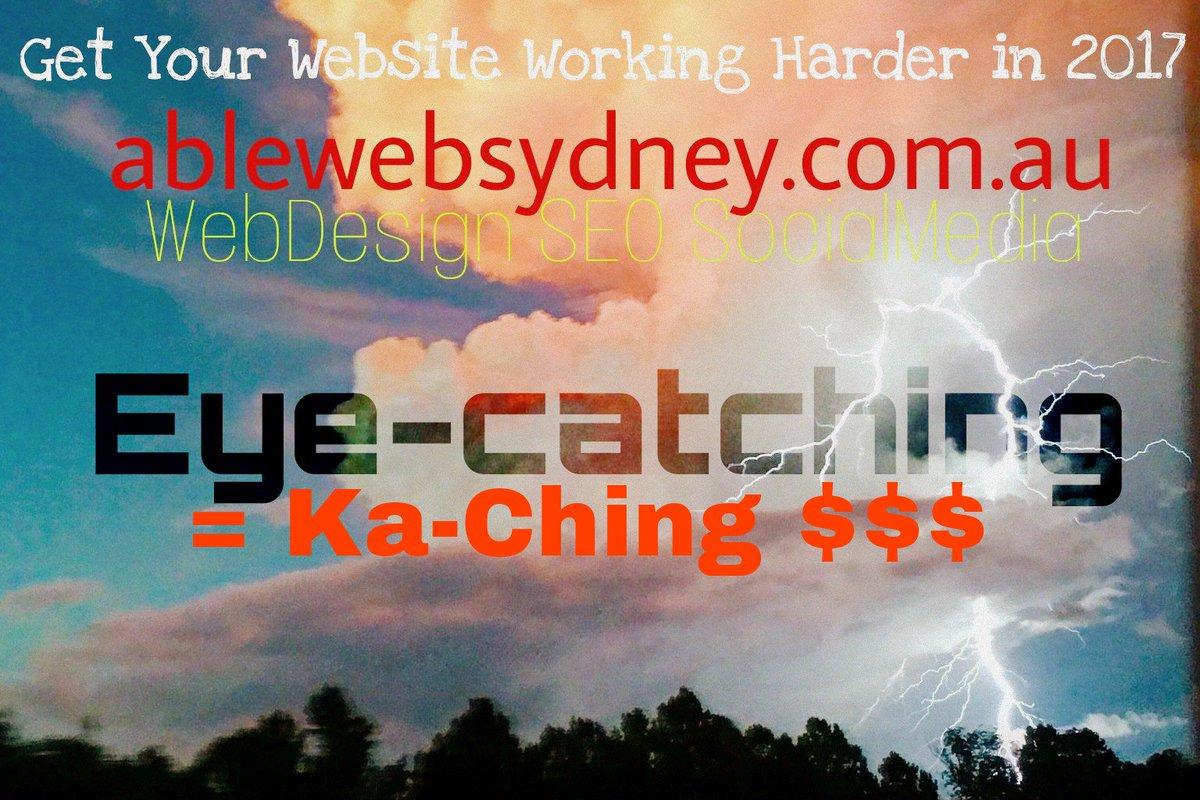 RT RGAblewebSydney: #webdesign #seo #googlebusiness #sydney  http://www. ablewebsydney.com.au  &nbsp;   #eyekaching<br>http://pic.twitter.com/zLWOGHObnP