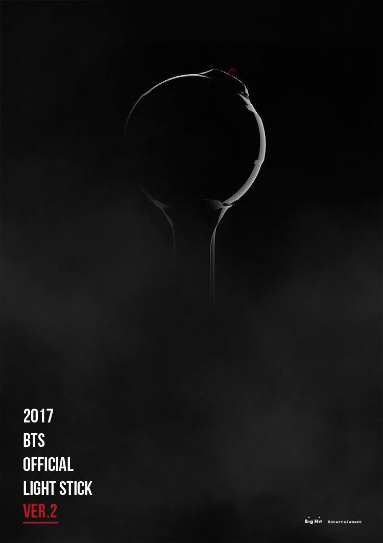 2017 BTS OFFICIAL LIGHT STICK [A.R.M.Y BOMB] VER.2 Teaser  #방탄소년단 #BTS #ARMYBOMB_ver2