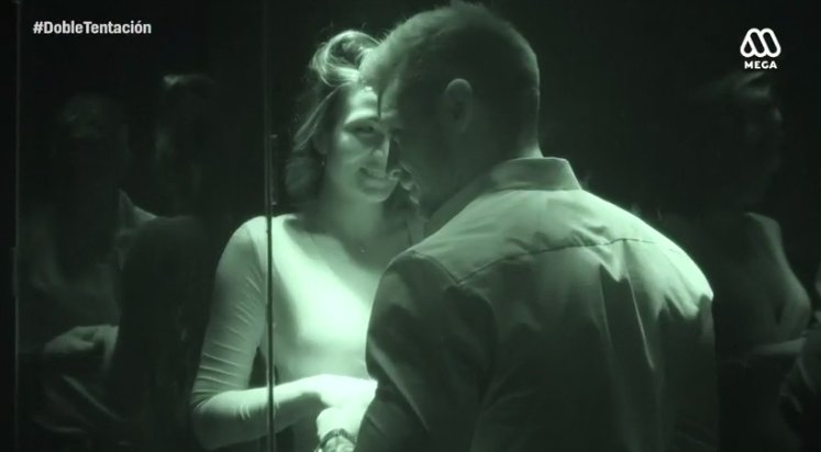 ¿Se lo estará imaginando Oriana? Lisandra y Luis se están 'conociendo'...