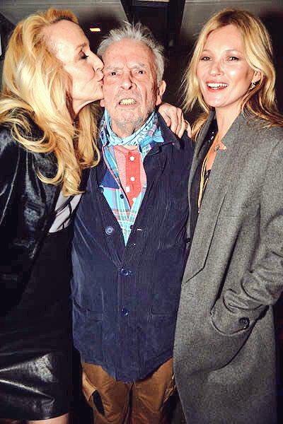 Happy birthday, Kate Moss (with David Bailey)
