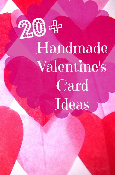 20 Handmade Valentine's Day Card Ideas