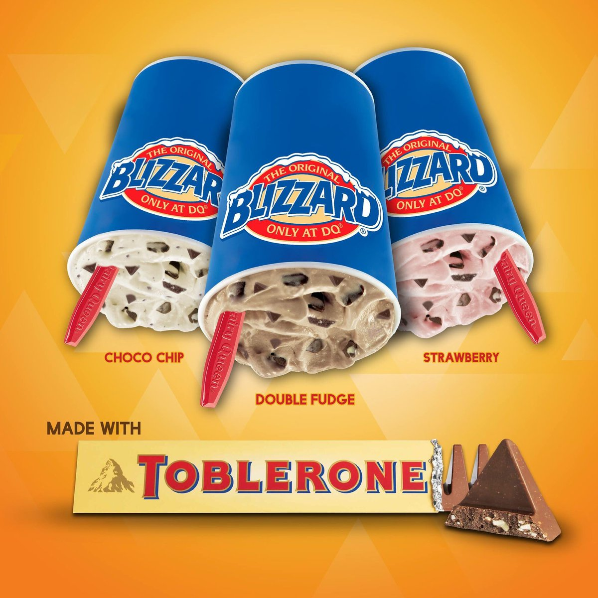 Take your palate to an exciting treat with the newest Blizzard of the Month- #TobleroneBlizzard. Available in all DQ Stores! #DairyQueenPH https://t.co/hUOUmLxs4R