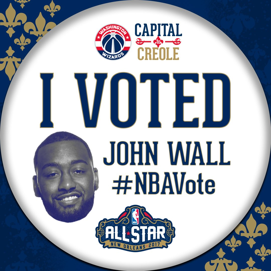It's the last night to #NBAVote @JohnWall to the @NBAAllStar Game!   RT to help us send him there!  #DCFamily https://t.co/cLrTAk7wTE