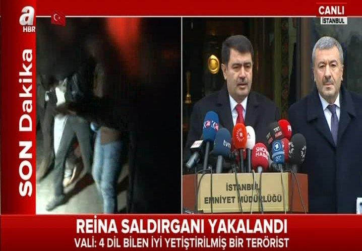 #CANLI 'Reina Saldırganı Yakalandı' Vali Şahin: 4 dil bilen iyi yetişt...