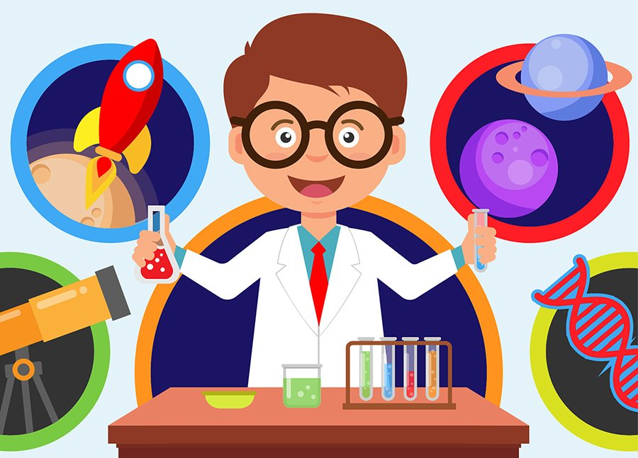 Интересных, картинки научные для детей