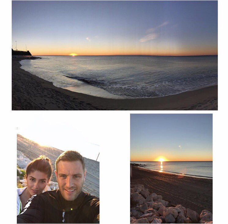 An that's a sunrise... #goodmorning #morningrun #lacalademijas @SadieStuart tx @OliviasLaCala ☀🏃❤ https://t.co/8DAcCejlom