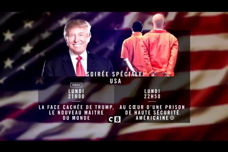 Magistral coup de flux !!! BRAVO les gars !!! La soirée spéciale #USA très forte avec le doc @realDonaldTrump à 878 000 leader TNT<br>http://pic.twitter.com/W6nmcBz2ju