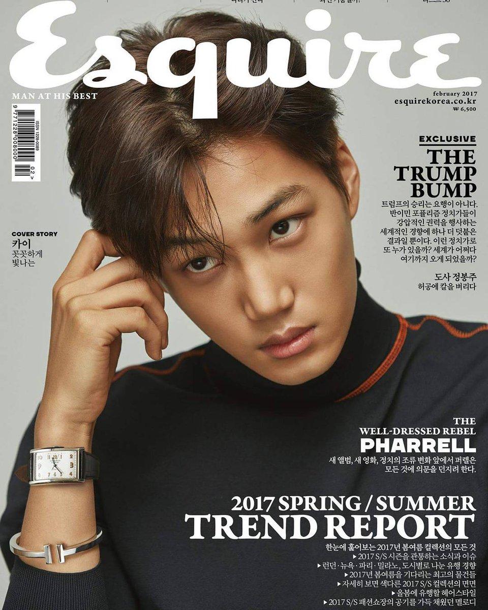 170117 esquire.korea Instagram Update with #EXO Kai https://t.co/elhrX...