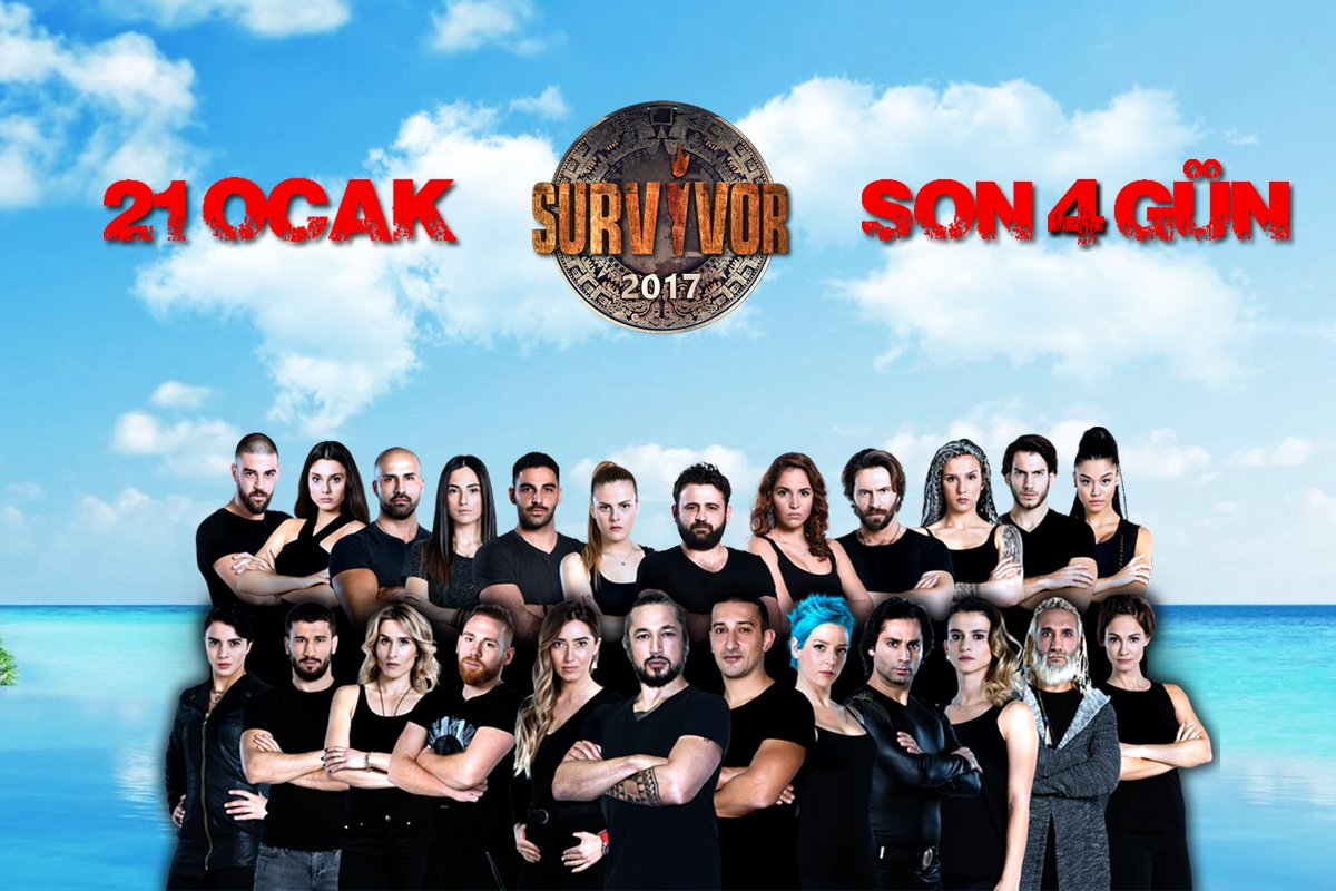 #Survivor 2017'ye son 4 gün! https://t.co/vEdIhXZNMA