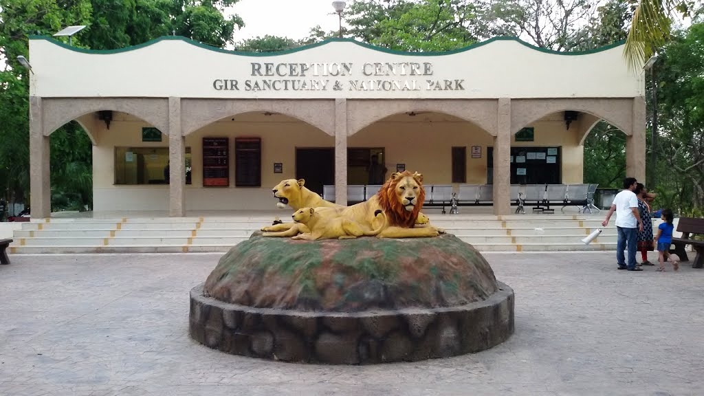 At #Sasan-#Gir, an only home for rare #AsiaticLion. Attending #Parliamentary Standing Committee on #Forests &amp; #Environment.<br>http://pic.twitter.com/kQWKLddqs1
