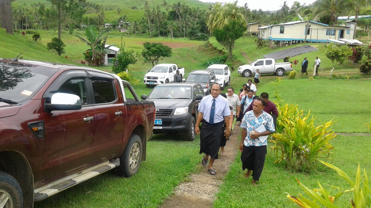 #Kiribati President #TanetiMamau visits land in #Cakaudrove #Fiji purchased for KIR #ClimateRefugees. #ClimateChange  http://www. fijitimes.com/story.aspx?id= 385757 &nbsp; … <br>http://pic.twitter.com/GN0zFJ6E4E