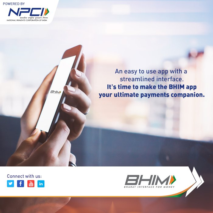 We have optimized our interface so that you can make transactions with ease.  Download the app now:   https:// bit.ly/BHIMapp  &nbsp;   #BHIMapp #BHIM<br>http://pic.twitter.com/iYMMSMhu1R