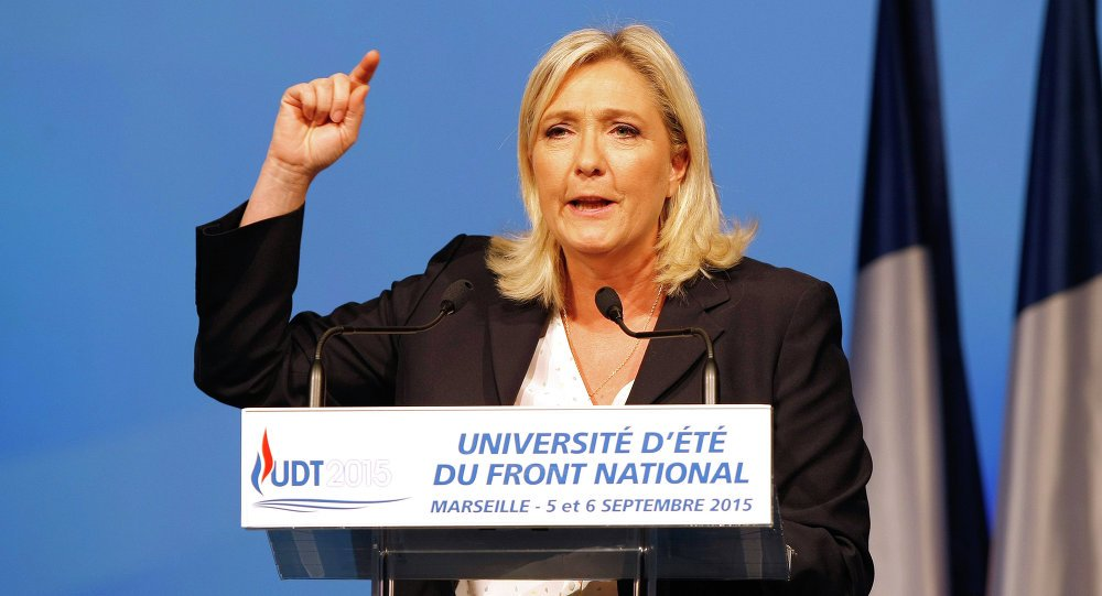.@MLP_officiel will recognize #Crimea as part of Russia if she is elected  http:// sptnkne.ws/dqRT  &nbsp;   #France2017<br>http://pic.twitter.com/jkulHBRGmP