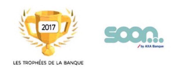 🏆Soon by @AXA_Banque  récompensé Trophée de la #Banque 2017 profil jeune #BanqueEnLigne : https://t.co/hOJxFCegal via @ChoisirmaBanque https://t.co/yP1qDLZhMs