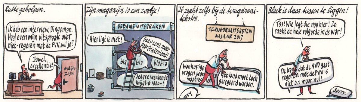 Rutte vroeg Dingeman om hulp: 'Haal even de uitspraak over niet-regeren met de PVV' https://t.co/sHns27CQcS