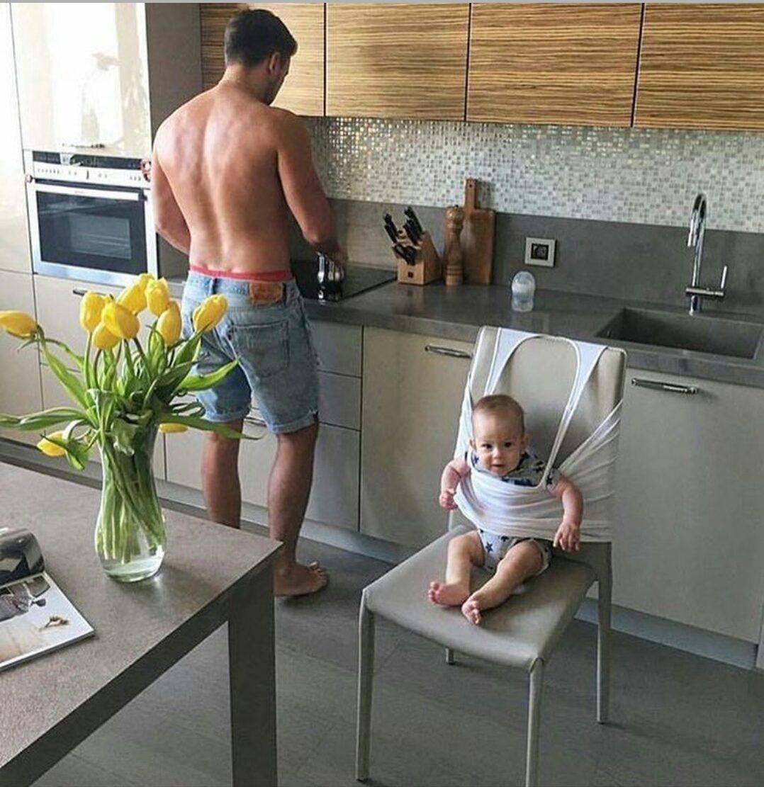 Отец с ребенком прикольные картинки
