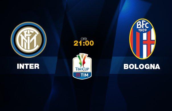 Diretta INTER-BOLOGNA Streaming gratis Rojadirecta TV Rai Play: dove vederla, ultime notizie, formazioni Coppa Italia