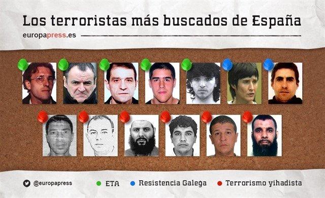 Estos son los terroristas más buscados de España  #SeBusca #Wanted #Terroristas #Terrorist<br>http://pic.twitter.com/SVzilYwSYy