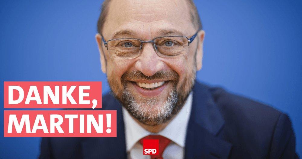 Lieber @MartinSchulz, Du hast #Europa zum Besseren verändert. Wir dank...