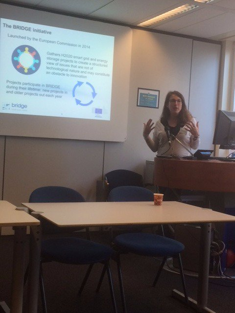Sophie Dourlens-Quaranta of Technofi introduces #IntenSys4EU and #Bridge #H2020 initiative at #businessmodels WG meeting in Brussels https://t.co/QkNbrxoKDY